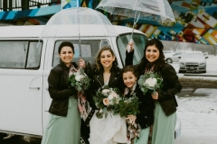 Winter weddings can rock!