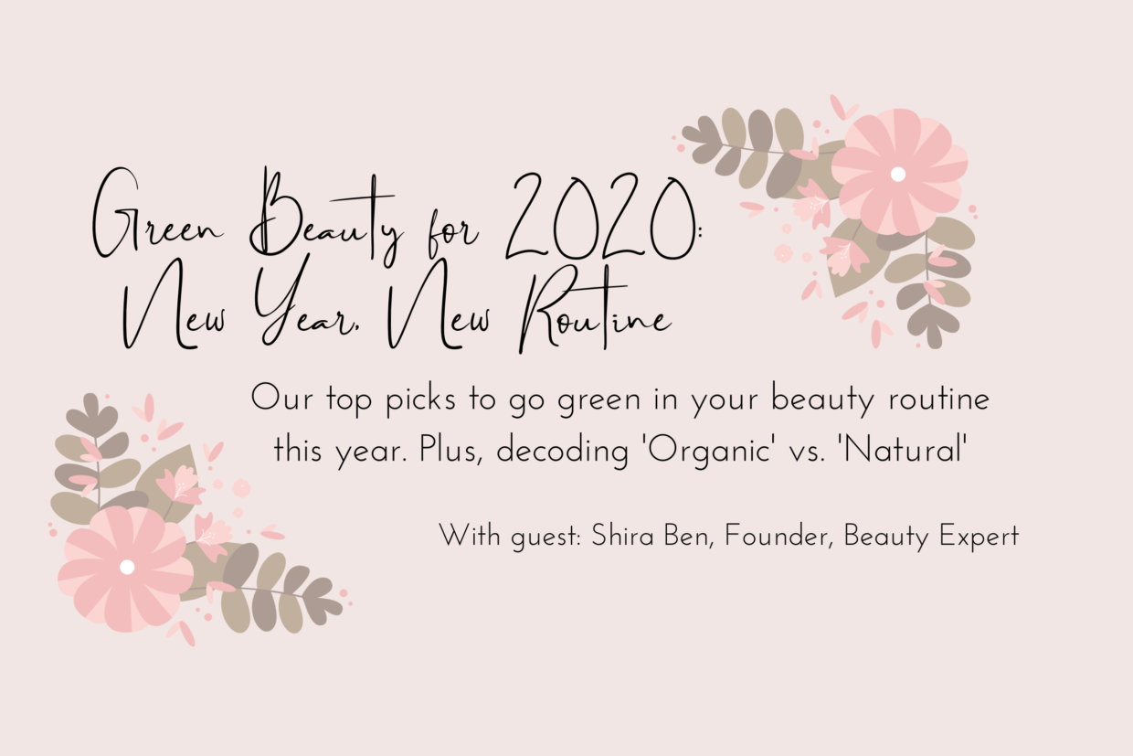 Blog Header' Green Beauty 2020