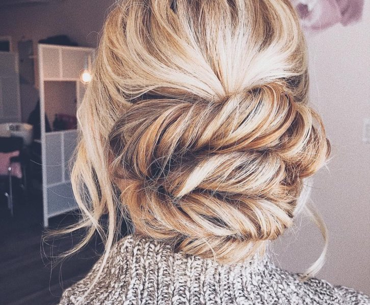 Bridal Updo With Clip-In Extensions