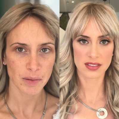 before and after glam